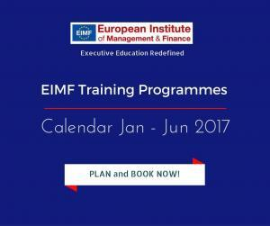 EIMF training Calendar for 2017