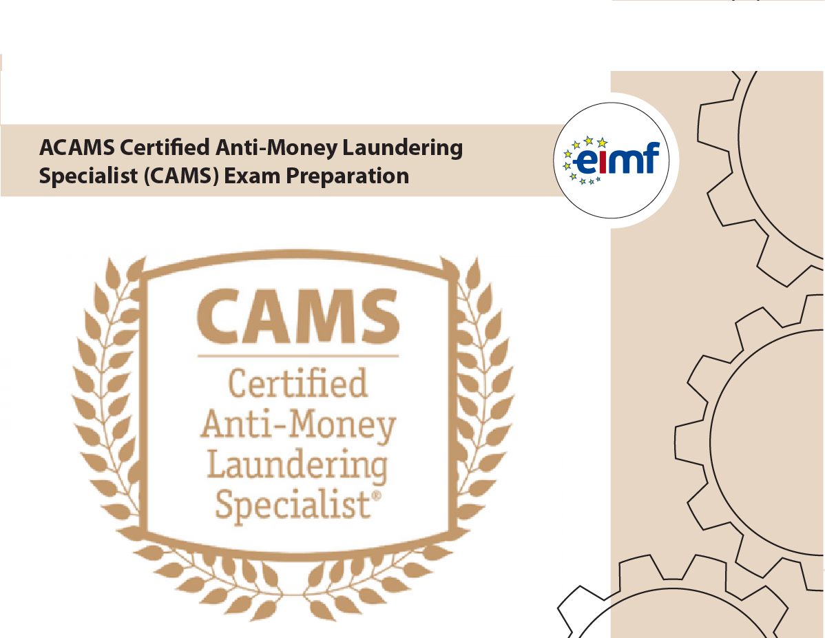 Acams Certified Anti Money Laundering Specialist Cams Exam Preparation
